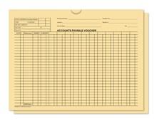Buff 5470 Accounts Payable Voucher Jackets DASP-5470-BUFF