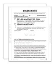Implied Warranty Exterior Buyers Guide Peel N Seal No Lines DASP-8254-NL-2017 Exterior
