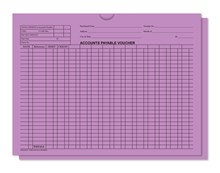 Lavender 5470 Accounts Payable Voucher Jackets DASP-5475-LAVENDER