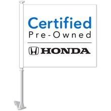 Certified Honda Clip-On Manufacturer Flag DASP-4781-27