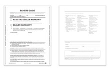 As-Is No Lines Interior Buyers Guide Peel N Seal DASP-8252-NL-2017 Interior