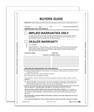 Implied Warranty Exterior Buyers Guide Peel N Seal DASP-8254-2017 Exterior