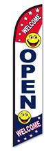 Open Rwb Swooper Flag DASP-4760-295