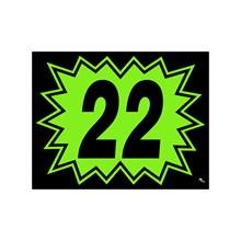 Green and Black Burst Model Years DVT330-22