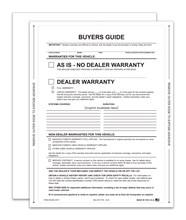 As-Is Interior Buyers Guide Peel N Seal DASP-8252-2017 Interior
