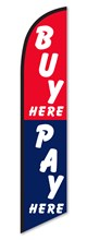 Buy Pay Here Swooper Flag DASP-4760-215