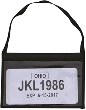 Vinyl Tag Holder Bag DASP-4852