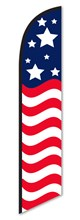 Usa Wave Swooper Flag DASP-4760-202