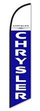 Chrysler Blue Swooper Flag DASP-4760-025