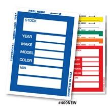 Kleer-Bak Stock Stickers VT400N