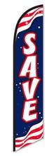 Save Rwb Wave Swooper Flag DASP-4760-715