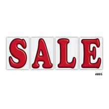Jumbo Underhood Sale Signs Red DVT-895-RED SALE