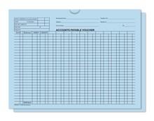 Blue 5470 Accounts Payable Voucher Jackets DASP-5471-BLUE