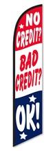 Bad Credit Rwb Swooper Flag DASP-4760-280