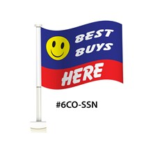Best Buys Here Double Pane Clip-On Flag DVT-6CO-BBH