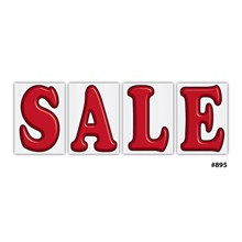 Jumbo Underhood Sale Signs Blue DVT-895-BLUE SALE